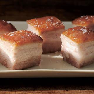 Pork Belly Confit.