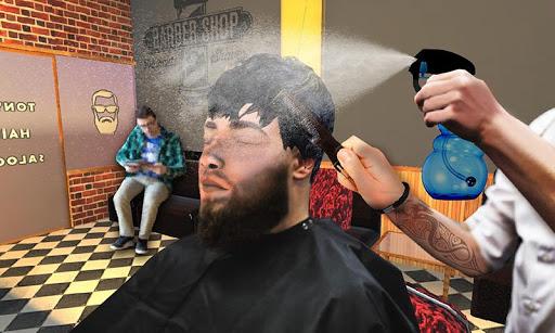Barber Shop Hair Salon Cut Hair Cutting Games 3D 1.4.1 screenshots 1
