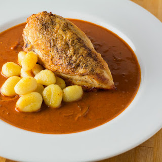 Chicken Paprikash Rethought