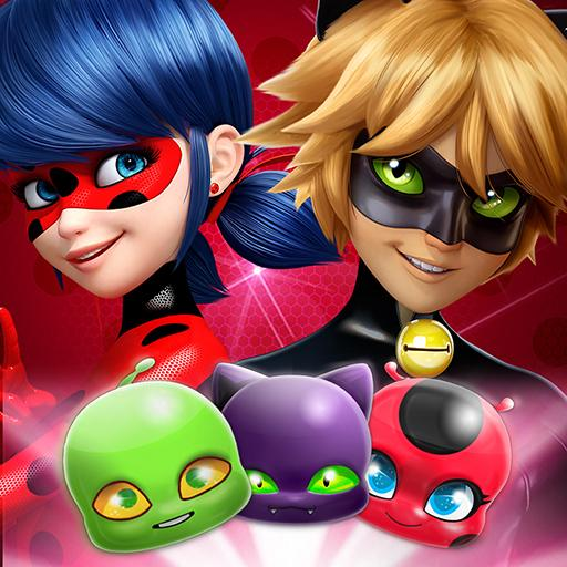Miraculous Crush: A Ladybug & Cat Noir Match 3