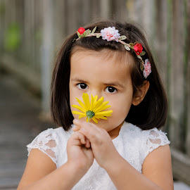 Yellow by Klaudia Klu - Babies & Children Child Portraits