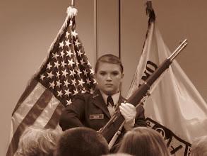 Photo: Drill Team @ Battalion Awards Ceremony