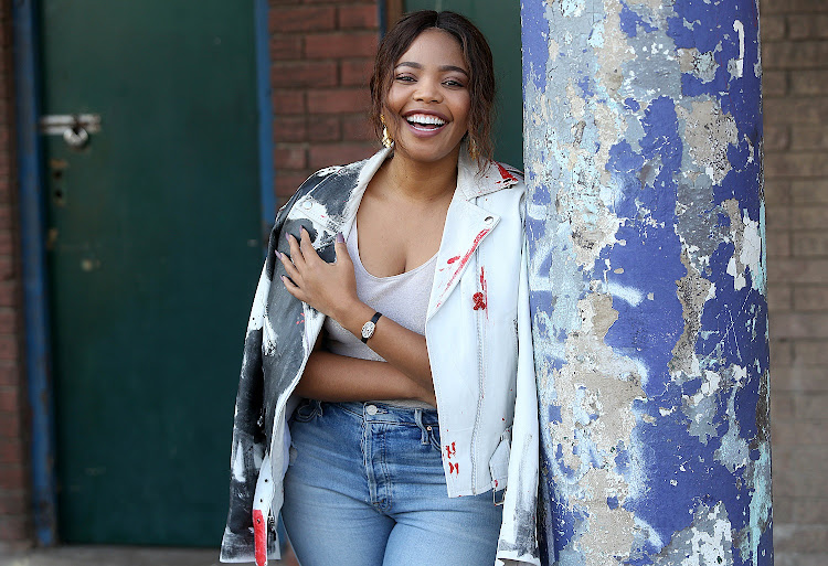 Actress Terry Pheto
