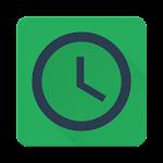 Minimalist Clock Widget Icon