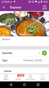 Taza Ordering App- screenshot thumbnail