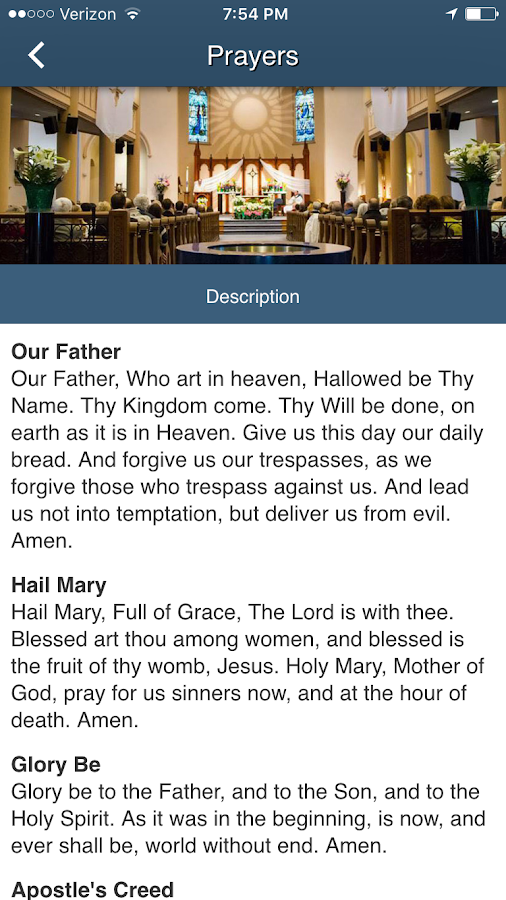 Blessed Sacrament St. Boniface- screenshot