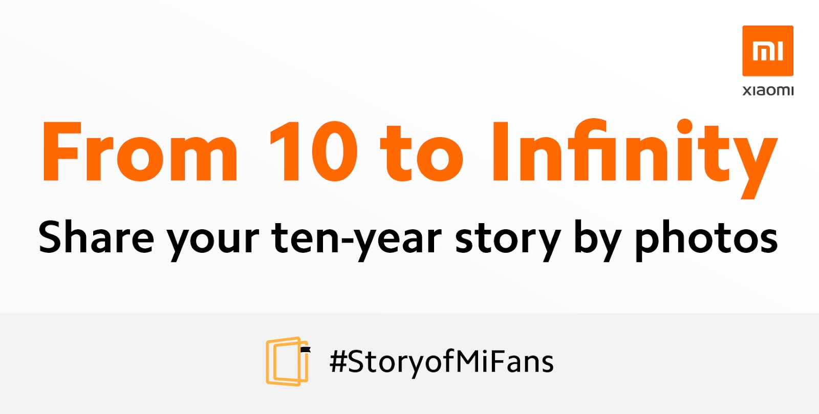 From 10 to Infinity! Share Your 10 Year Story by Photos!