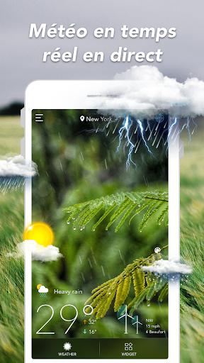 Prévisions météo & Widgets & Radar screenshot 1