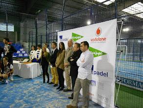 Photo: Miguel Medina, presidente FEP, junto con otras autoridades