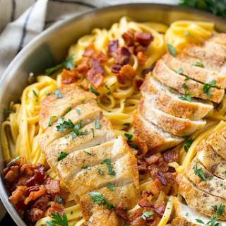 Butternut Squash Pasta with Chicken