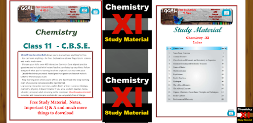 Class 11 Chemistry - Apps on Google Play