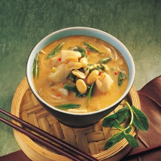 Fish And Noodle Soup.