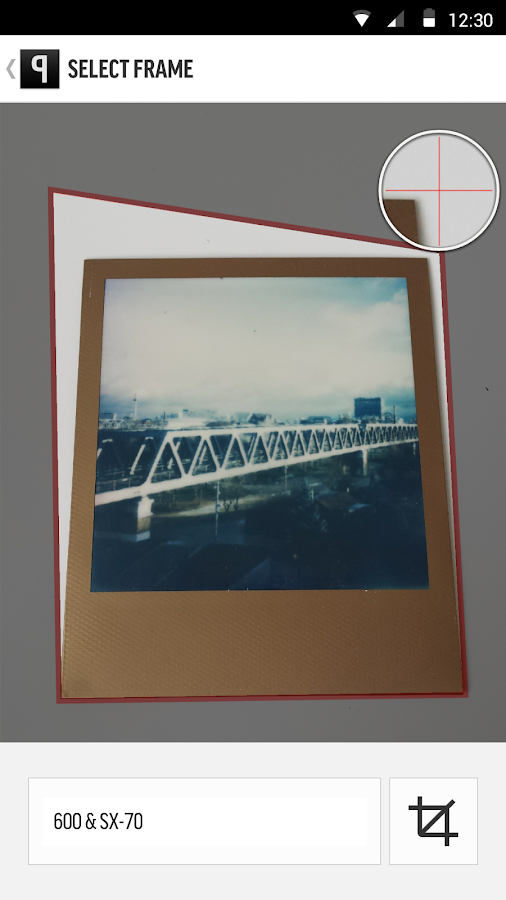 Impossible Project- screenshot