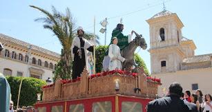 Procesión de Semana Santa en Huércal-Overa.