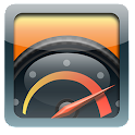 MyCarAcc - test your car speed icon