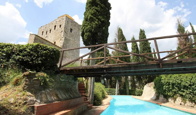 Villa with pool Gaiole in Chianti