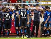 Le Club de Bruges est décimé pour le début du deuxième tour