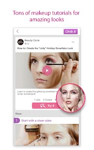 Beauty Circle - Social Fashion- screenshot thumbnail