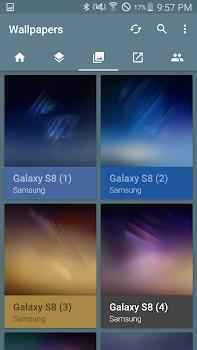S8 Launcher Theme