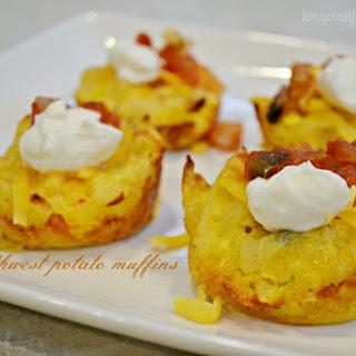 Southwest Potato Muffins.