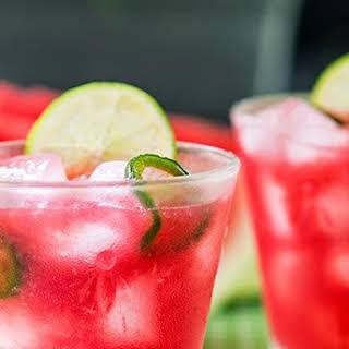 Watermelon Jalapeño Cooler.