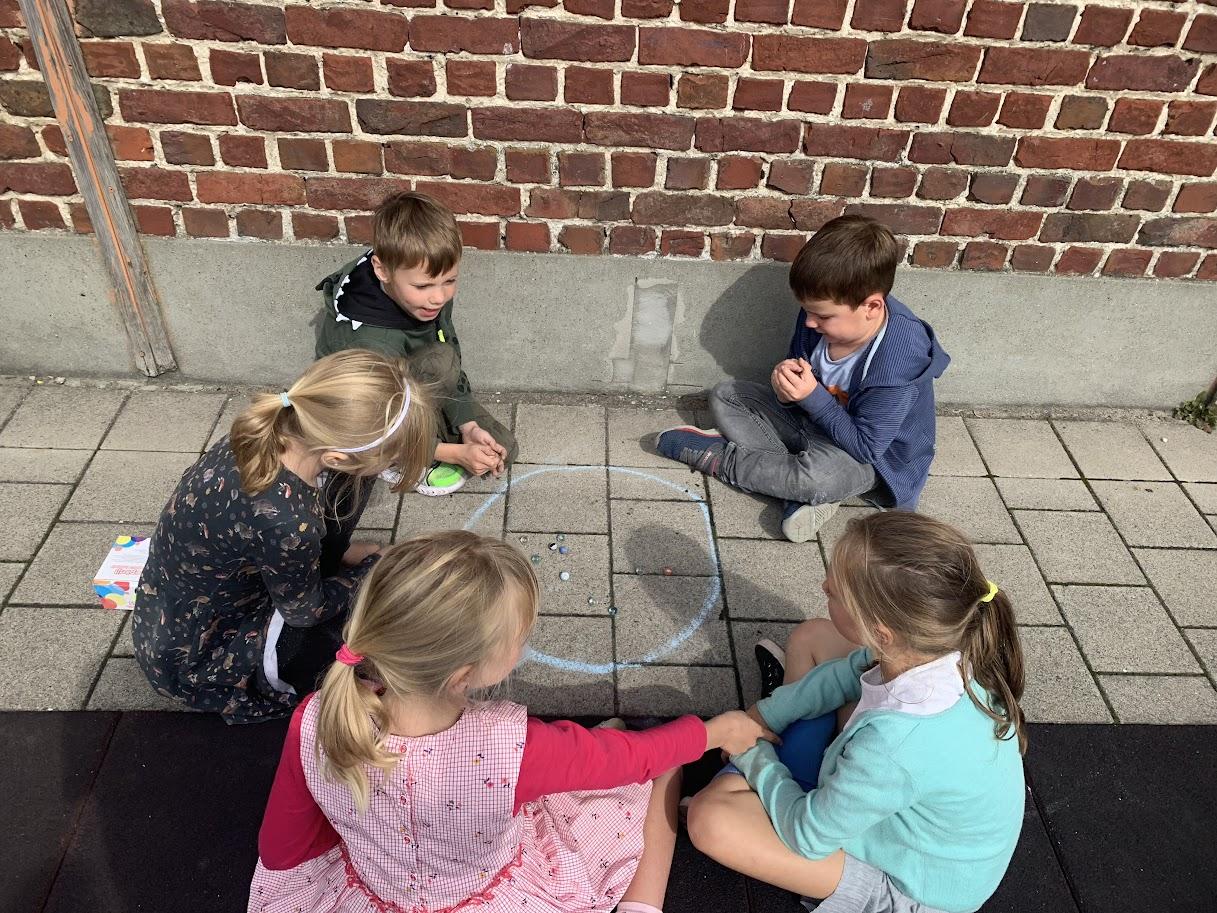 Spelletjes uit de oude doos in 1e en 2e leerjaar