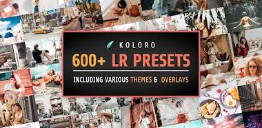 Koloro 4.9.5 VIP - Presets For Lightroom Mobile Mod APK