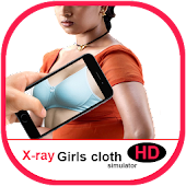 Girl Cloth Xray Scan Simulator