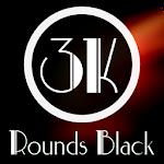 3K Rounds Black - Icon Pack v1.4.2