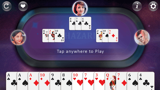 Hazari - Card Game 1.0.4 gameplay | by HackJr.Pw 5