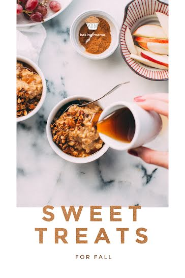 Sweet Treats for Fall - Pinterest Pin Template