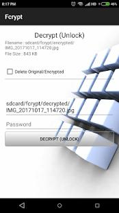 Fcrypt - náhled