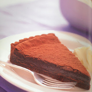 Rich Chocolate Tart.