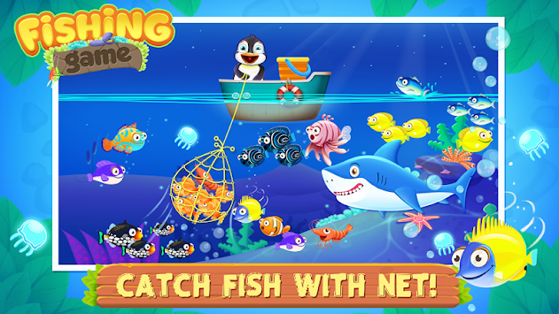 Sea fishing games for kids apk free casual games for android for Sea fishing games