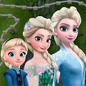 Disney Frozen Free Fall - Play Frozen Puzzle Games icon