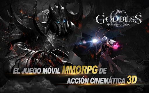 Goddess: Primal Chaos - MMORPG de acciu00f3n 3D apkmr screenshots 2