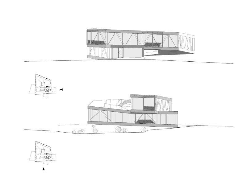 Photo: Posbank Pavilion - Elevations