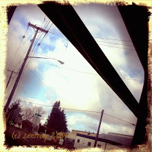 Photo: My travels to and from places, work, I see the sky and the clouds and I can create art along the way.