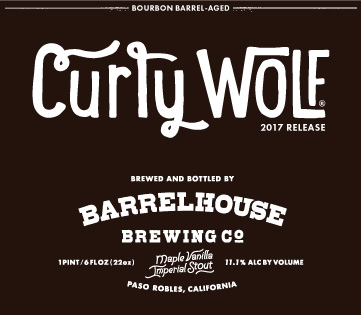Logo of BarrelHouse Curly Wolf  [2017] - Maple Vanilla Bourbon Imperial Stout