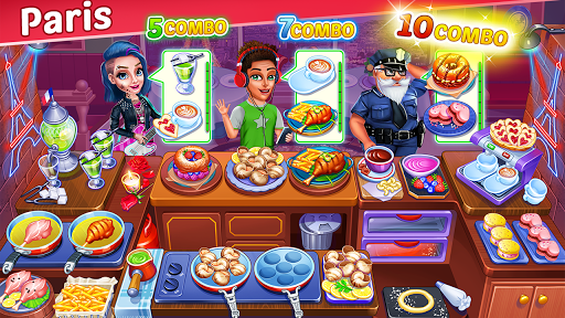 Cooking Express 2:  Chef Madness Fever Games Craze apkmr screenshots 6