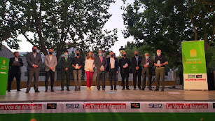 Premiados y organizadores de la gala.