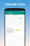 screenshot of Notepad With Lock - Themes, Calendar, Rich Text
