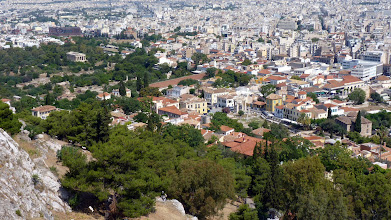 Photo: View from Acropolis: Roman and Old Agora