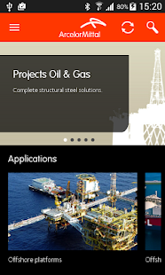 ArcelorMittal Projects- screenshot thumbnail
