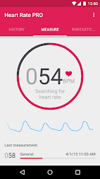 Runtastic Heart Rate PRO APK screenshot thumbnail 1