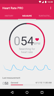 Runtastic Heart Rate PRO - screenshot thumbnail