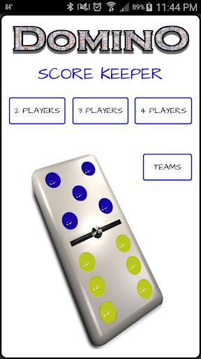 Domino Scorekeeper