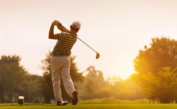unser Wohlergehen Gerät Golfer