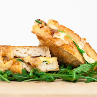 Havarti Grilled Cheese with Caramelized Shallots