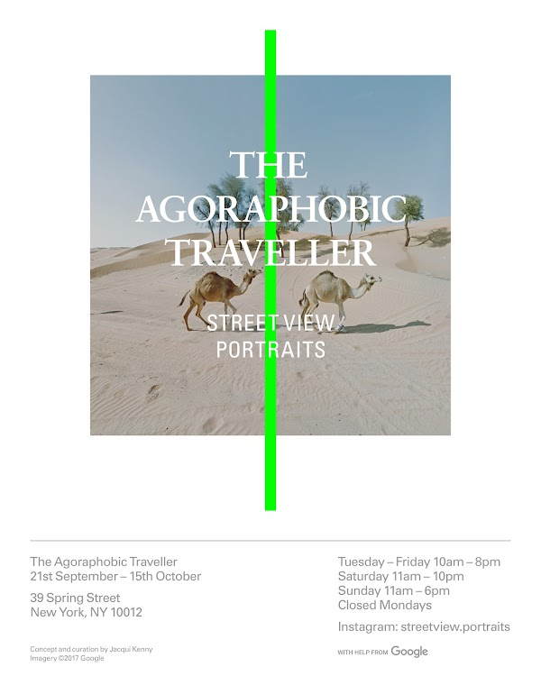 The Agoraphobic Traveller - Traveling the world through street view portraits.